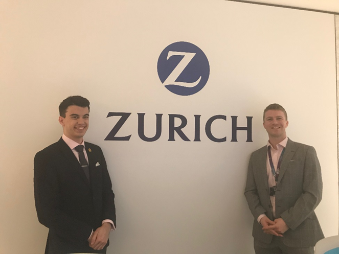Photo of Matthew at Zurich